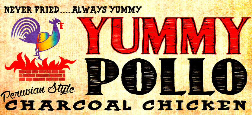 Yummy-pollo-logo-wall-grunge-13-light-background-no_footnotes